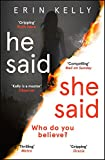 He Said/She Said: the must-read bestselling suspense novel of the year