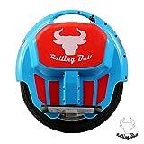 rollingbull eléctrico monociclo ewheel x5blue hasta 18km de alcance + LED luces