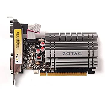 Zotac NVIDIA GeForce GT730 4GB DDR3 DVI VGA HDMI PCI-Express 2.0 (x8 Lanes) Low Profile Fanless Graphics Card ZT-71108-10L