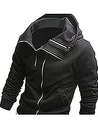 newfacelook Mens Stylish Hood T Shirt Slim Fit Sweatshirt Hoodie Collection