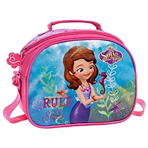 Disney Sofia The Seas Neceser de Viaje, 4.75 litros, Color Rosa