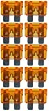 baytronic Standard Flachstecksicherung Kfz-Sicherung (10 Stück 40 A orange)