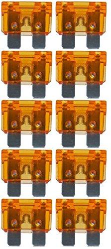 baytronic Standard Flachstecksicherung Kfz-Sicherung (10 Stück 40 A orange) -