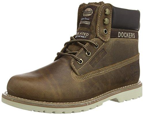 Dockers 33CR001, Stivali uomo, Marrone (Braun (desert 460)), 44