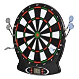 WULAU Electronic Dartboard 18 games and 159 variants for 8 players, incl. Arrows