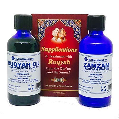 Sunnahealing UK Zamzam Ruqyah Wasser, Ruqyah Öl -