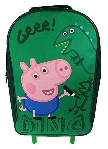 Peppa Pig Rädern Tasche Kinder Gepäck, 40cm, grün