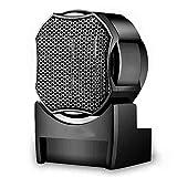 FEIFEI Termosifone Riscaldatore da 500 W  Riscaldamento ceramico PTC  Portatile  Ventola di riscaldamento  Nero Facile da spostare