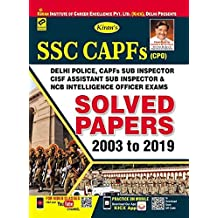 Kiran SSC CAPFs (CPO) Solved Papers 2003 To 2019 English (2711)
