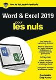 Word et Excel 2019 pour les Nuls...