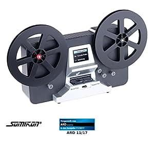 Somikon Filmscanner: HD-XL-Film-Scanner & -Digitalisierer für Super 8 und 8 mm, Stand-Alone (8mm Film Scanner)