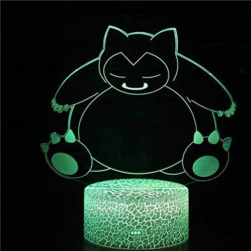 Bär Spielzeug Serie 3D Lampe Kindertag Geschenk 3D Nachtlicht Tragbares Ladegerät Usb Led 3d Glow QQ Hellgrau USB Wiederaufladbare Kinder Ältere Nachtlebensmittel Aktuelle Dekor für Bar Aktie-Yd6314