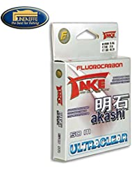 Lineaeffe Take Akashi fluorocarbono 50m 0,12mm 2,55kg UltraClear