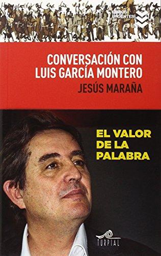 Conversaciónn con Luis García Montero