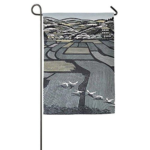 Field And Stream Magazine (Country Bereich Haus Flaggen, dekorative Flaggen, Outdoor Flaggen, Hof Flagge, Home Flagge, weiß, 46*69 cm)
