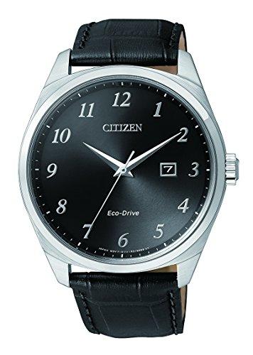Citizen Herren-Armbanduhr Analog Quarz Edelstahl BM7320-01E