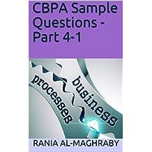 CBPA Sample Questions - Part 4-1