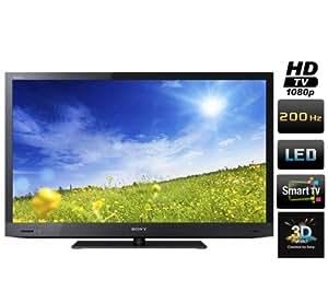 SONY Téléviseur LED 3D KDL-55EX720 + Câble HDMI - Plaqué or 24 carats - 1,5 m - SWV3432S/10 + Support mural STILE S800 - noir + Cache-câbles STILE Line Cover Double (Téléviseurs 3D pack bundle)