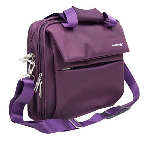 Preisvergleich Produktbild HAUPTSTADTKOFFER® Laptoptasche · 20 Liter · Serie MITTE · VIOLETT