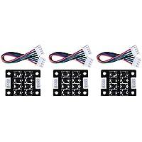 Biqu TL-Smoother - Kit de módulo Add-On para eliminar el patrón, filtro de clip y de motor, para impresoras 3D, controladores de motor, pack de 3 unidades