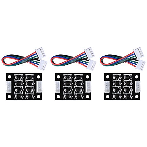 BIQU TL-Smoother kit addon module for pattern elimination motor filter clipping filter 3D printer motor drivers Controller(Pack of 3pcs) Test