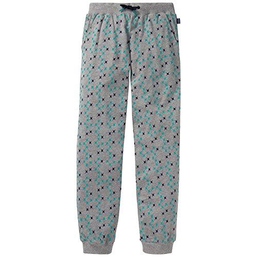 Schiesser Jungen Schlafanzughose Mix&Relax Jersey Pants Grau (Grau-Mel. 202), 176