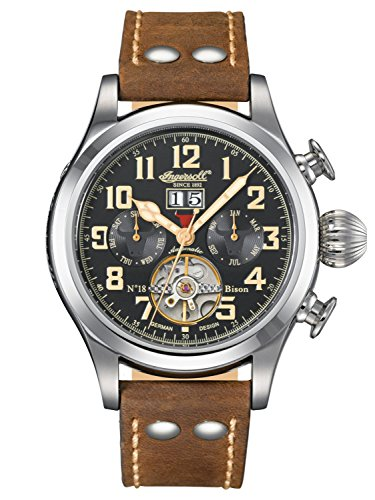 Ingersoll Bison NO.18 Automatic Gents Watch IN4506BKCR