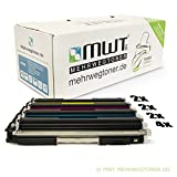 10x MWT Remanufactured Toner für HP LaserJet CP 1025 Color NW ersetzt CE310A-13A 126A