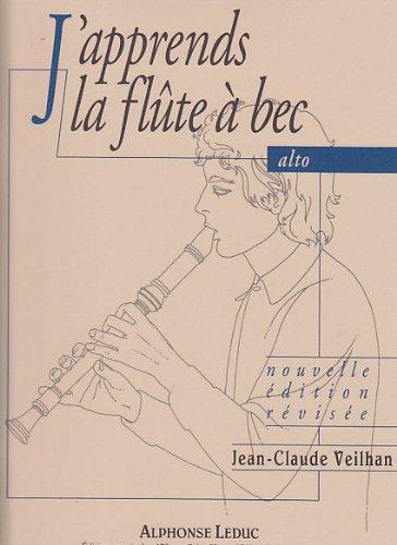 Veilhan: j'apprends la flûte a bec alto
