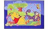 Kinder-Teppich Winnie Pooh und Tiger Spielteppich Kinderzimmer Spielmatte Baby