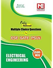 3500 MCQs Electrical Engineering- Practice Book for ESE GA