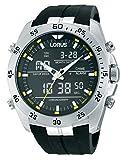 Lorus Herren-Armbanduhr XL Sport Analog - Digital Quarz Kautschuk RW619AX9