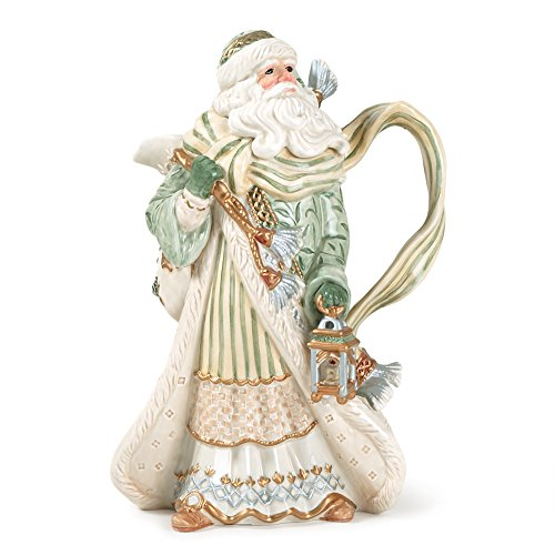Gregorian Soliday Collection, Pitcher, White by Fitz and Floyd (Floyd Pitcher)