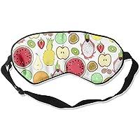Colorful Fruits 99% Eyeshade Blinders Sleeping Eye Patch Eye Mask Blindfold for Travel Insomnia Meditation preisvergleich bei billige-tabletten.eu