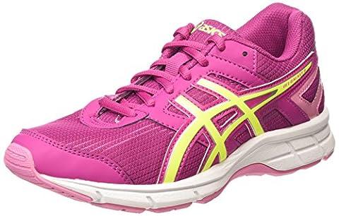 ASICS Gel-galaxy 8 Gs, Chaussures de Running Compétition fille - Rose (berry/flash Yellow/flamingo 2107), 37.5 EU