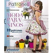 Revista Patrones Infantiles nº9 Moda Primavera-verano, 32 patrones de costura infantil con tutoriales