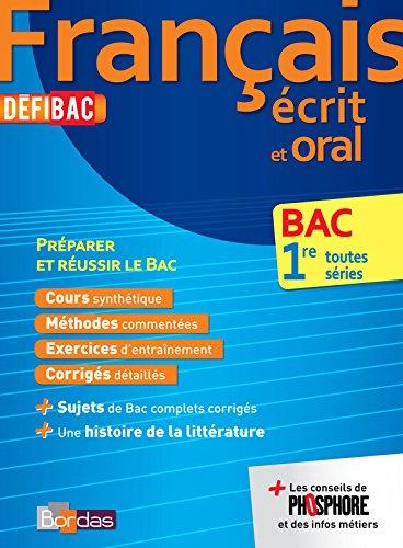 DefiBac Cours/Méthodes/Exos Français 1res