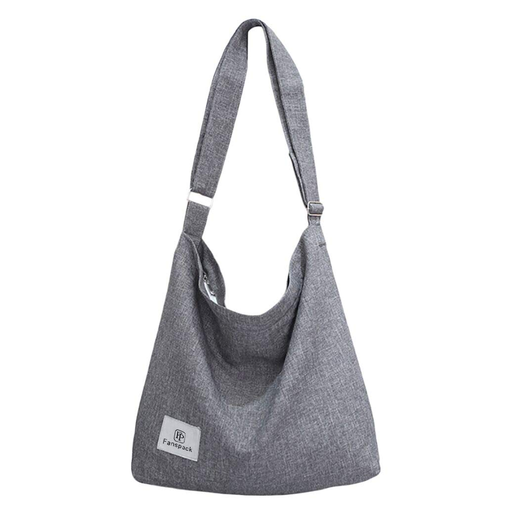 Bolsos Mujer,Fanspack Bolso Bandolera Mujer de Lona Hobo Bag Bolsos de Crossbody Bolso Shopper Multifuncional