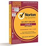 Norton Security Deluxe Sonderedition 2018 | 2+1 Geräte | PC/Mac/Smartphone/Tablet | Download -