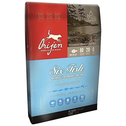 ORIJEN Six fish 13kg - Alimenti secchi grain free per cani