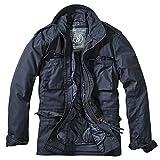 Brandit, M65 Field Jacket per Uomo Classic, Blu Scuro L