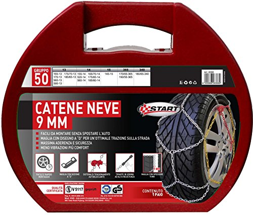 START-Catene-Neve-Start-9-Millimetri-Gruppo-50-Manutenzione-Ed-Emergenza-Auto