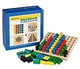 Unbekannt Egermann EH221/231 - Steckspielbrett Holzsteckspiel Reihe, Kleinkindspielzeug