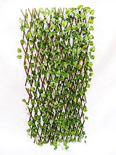SZ - Barrera Jardin con hojas 120cm alto
