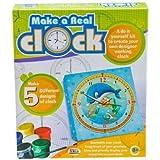 Paint & Make a Real Clock Ekta Toys Game Kids Educational DIY Kit School Project