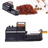 Seasofbeauty Tubeuse Électrique Rouleuse électrique Machine à Cigarettes Cadeau Homme Cigarette Injector (Noir)