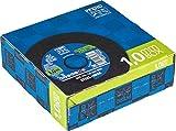Pferd Winkelschleifer Trennscheibe EHT Box (25 Trennscheiben) – 115 x 1,0mm, für Stahl, Edelstahl (Inox) - 69120943