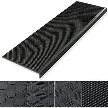 stufenmatten aus gummi 25x75cm rutschhemmend f r innen und au entreppen garten. Black Bedroom Furniture Sets. Home Design Ideas