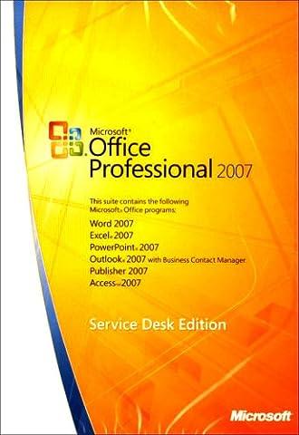 Microsoft Office Pro 2007 Win32 English UK Only CD Retail Tech (PC CD) [Import anglais]