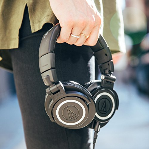 Audio Technica ATH-M50x DJ-Kopfhörer für Studio - 8